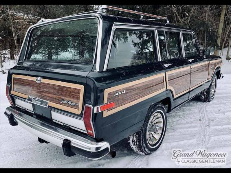 1985 Jeep Grand Wagoneer full
