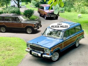 1986 Jeep Grand Wagoneer - Spinnaker Blue Metallic