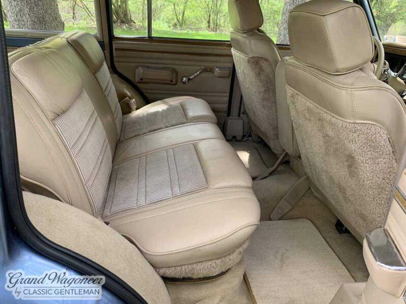1991 Jeep Grand Wagoneer full